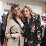 Maria Vittoria Cusumano ed Elisabetta Pellini all'evento Hanro