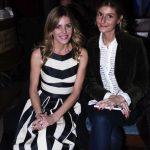 Maria Vittoria Cusumano ed Elisabetta Pellini alla sfilata della Roma Fashion White
