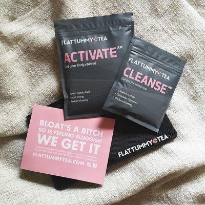 Flattummy Tea Active and cleanse