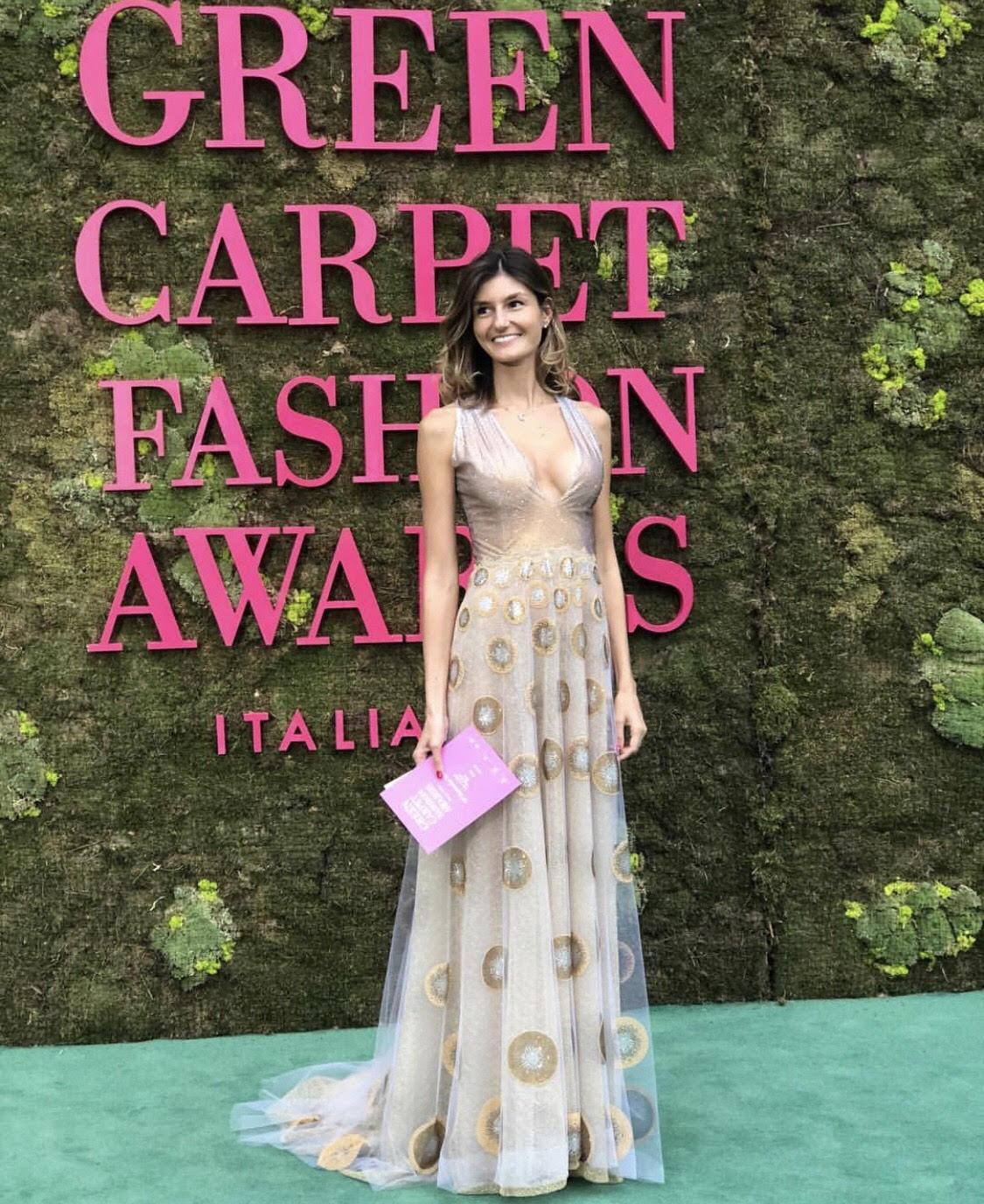 Maria Vittoria Cusumano Green Carpet