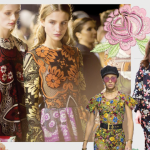 Stampa floreale - modelle - nuove tendenze