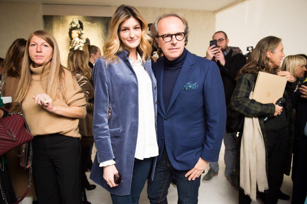 Andrea Della Valle with Maria Vittoria Cusumano