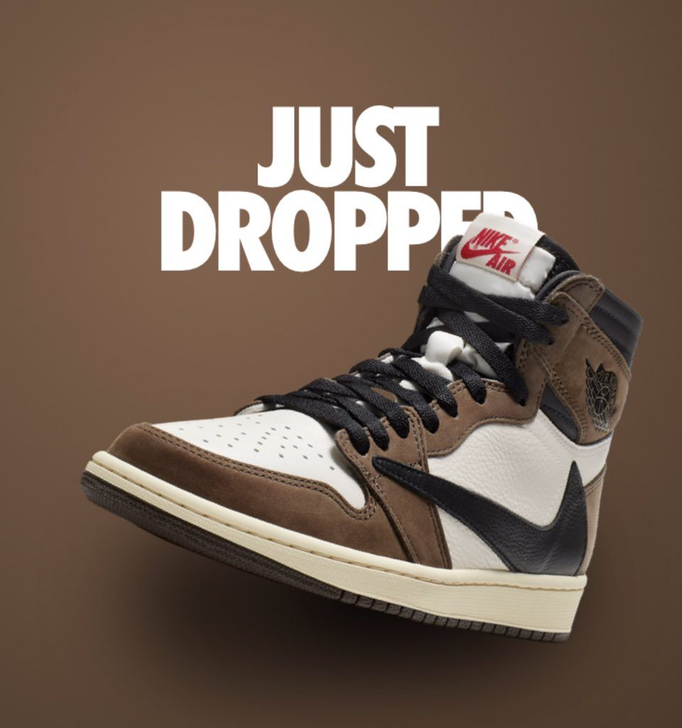 6ade8a193d60 Nike has officially announced the date Travis Scott for Air Jordan 1 will  drop out  the 11th of May. We d better take advantage of these few hours  before ...