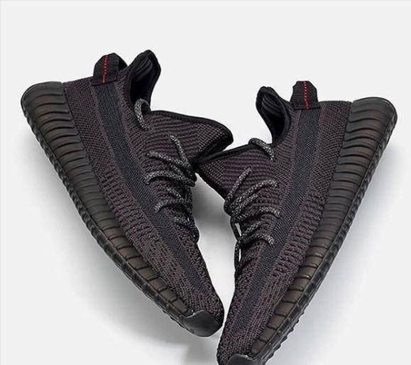 yeezy boost 350 total black
