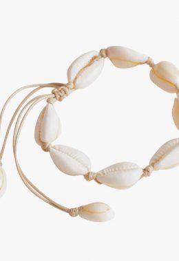 & Other Stories Adjustable Puka Shell Bracelet