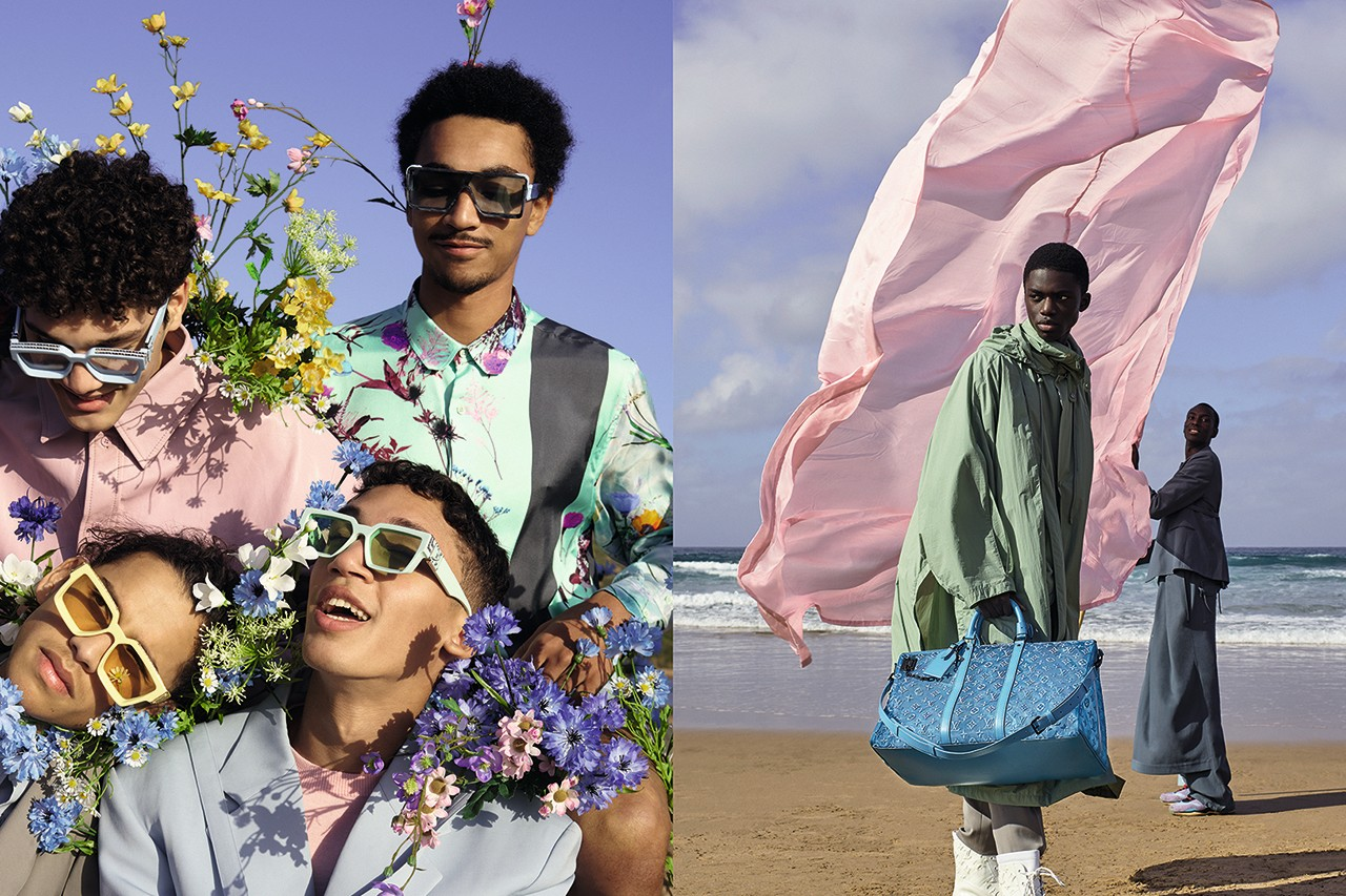 Luis Vuitton SS2020 video campaign (still shot)