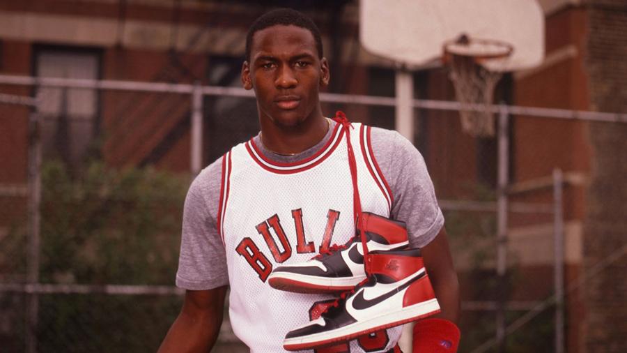storia Air Jordan sneaker